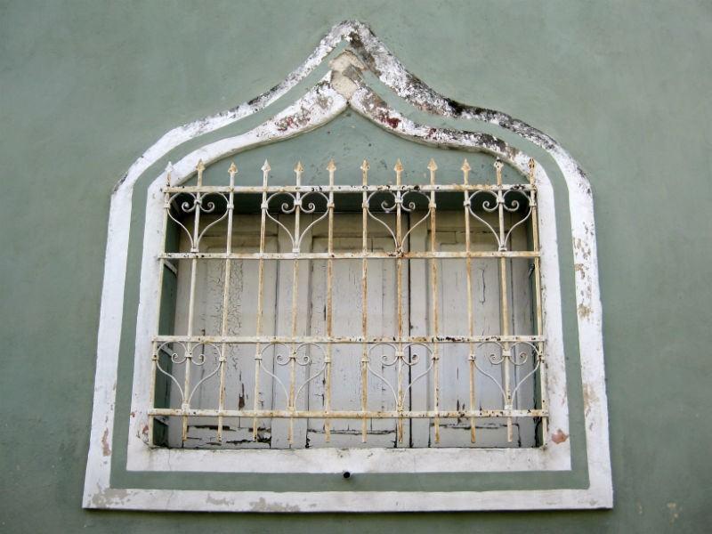 Merida Sage window Mexico Colonial photos