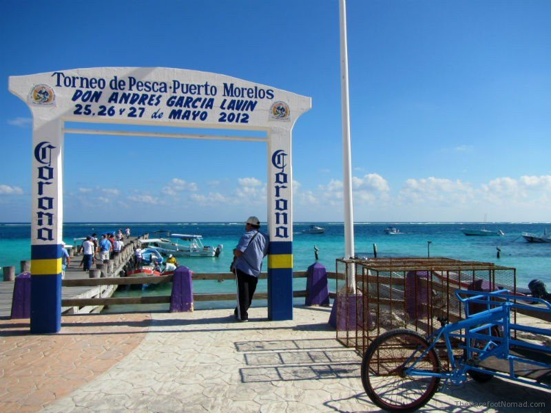 Puerto Morales Entrance to Pier