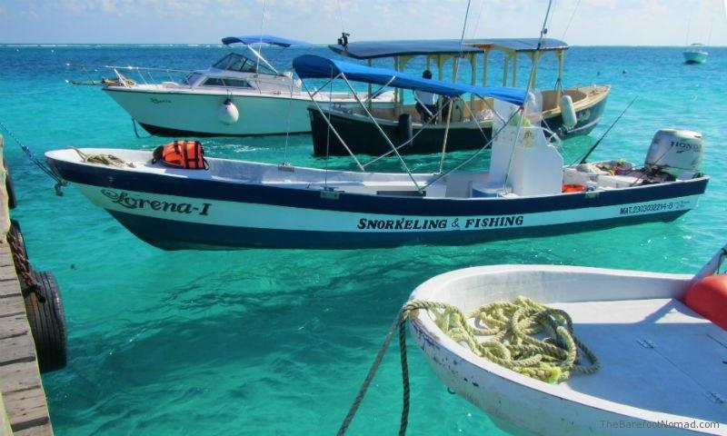Puerto Morales Fishing Boats Tied at Pier