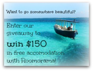 Roomorama contest widget