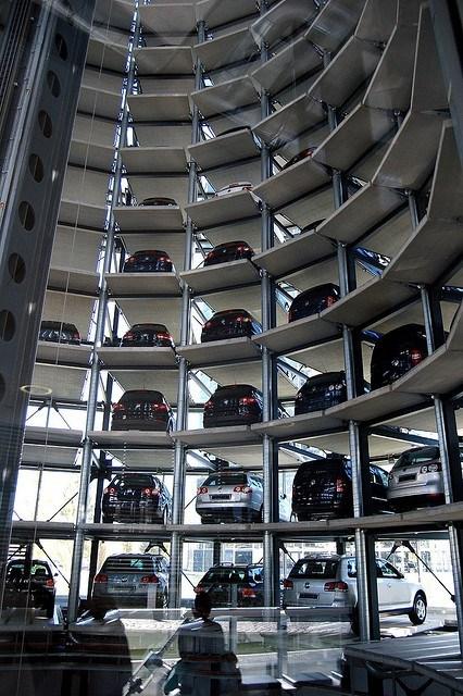 Volkswagen Car Silo Storage Option