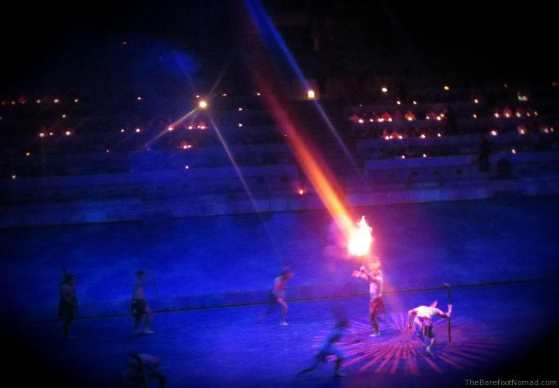 Xcaret Fire Hockey