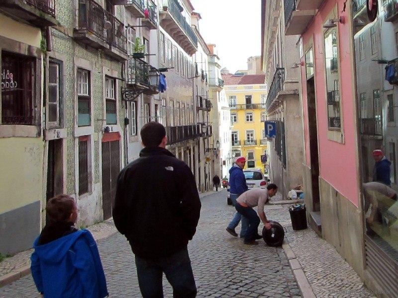 Beer Keg Delivery in Bairro Alto Lisbon