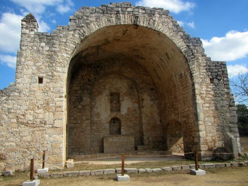 Church Ruins at Dzibilchaltun