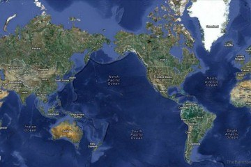 Google Satellite Map of the World