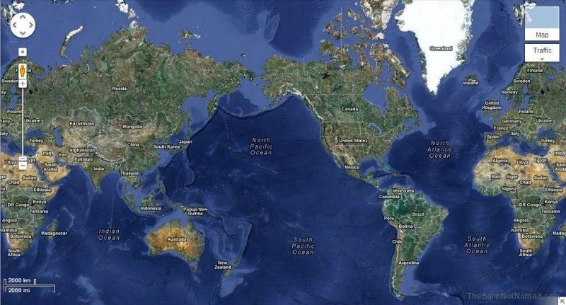 Google World Satellite
