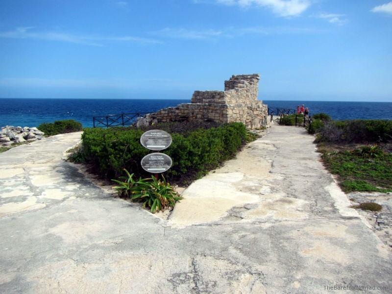 Ixchel Ruins on Isla Mujeres