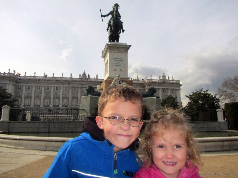 Kids Madrid Plaza de Oriente