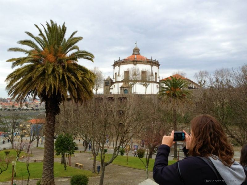 Micki Snapping Pics in Porto