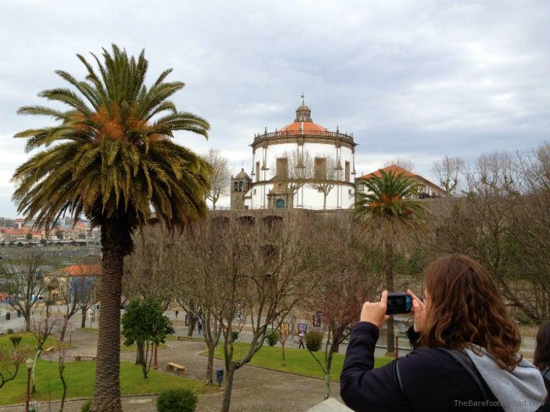 Micki Snapping Pics in Porto