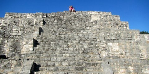 On top of the Ruins Dzibilchaltun