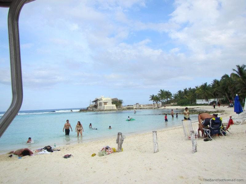 Playa Del Secreto on Isla Mujeres