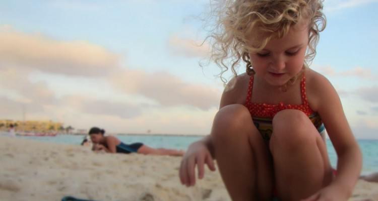 Playing on Mamitas Beach