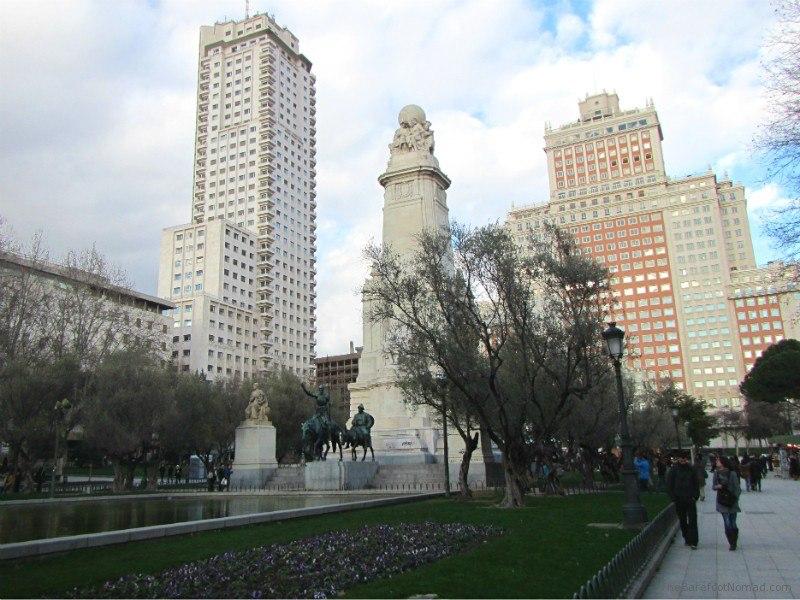 Plaza de Espania Madrid