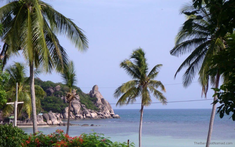 View from our bungalow on Ko Tao