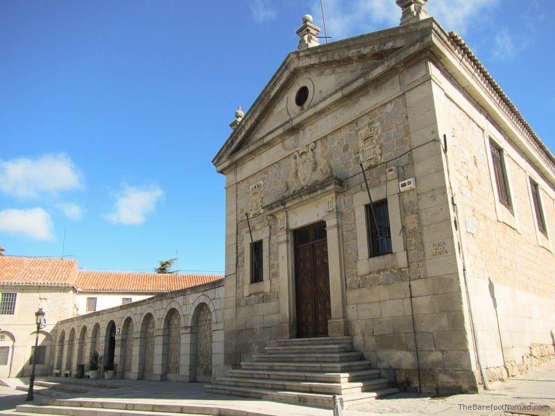 Another church in Avila, Spain