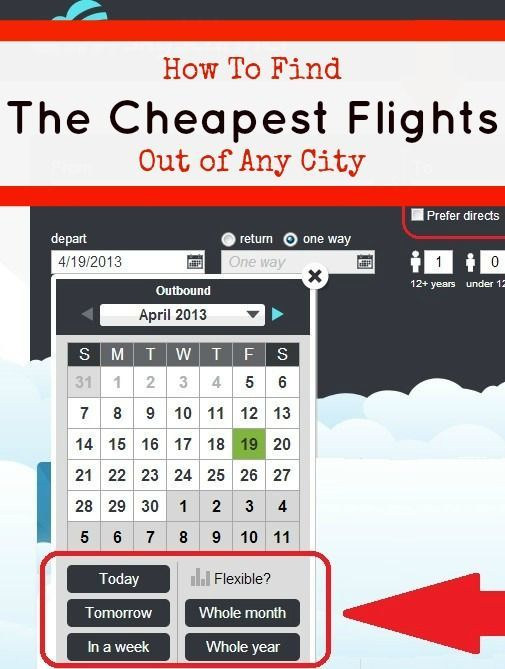 How To Find the Cheapest Flights Out of Any City