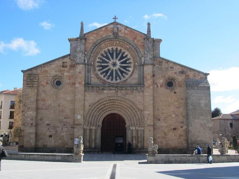 Iglesia de San Pedro, Avila, Spain