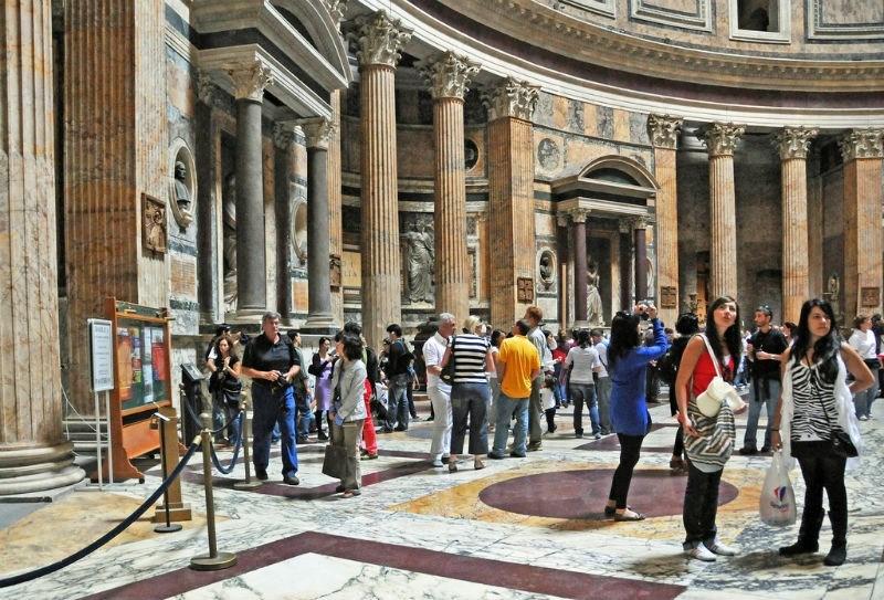 Tombs at the Pantheon