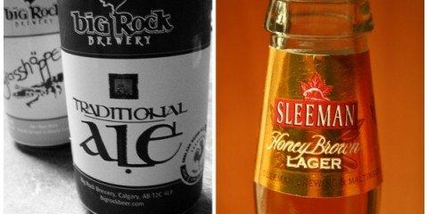 Big Rock vs Sleemans