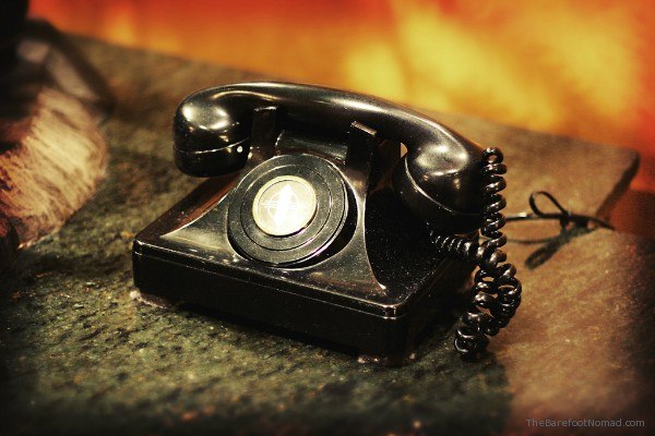 Old Fashioned Phone