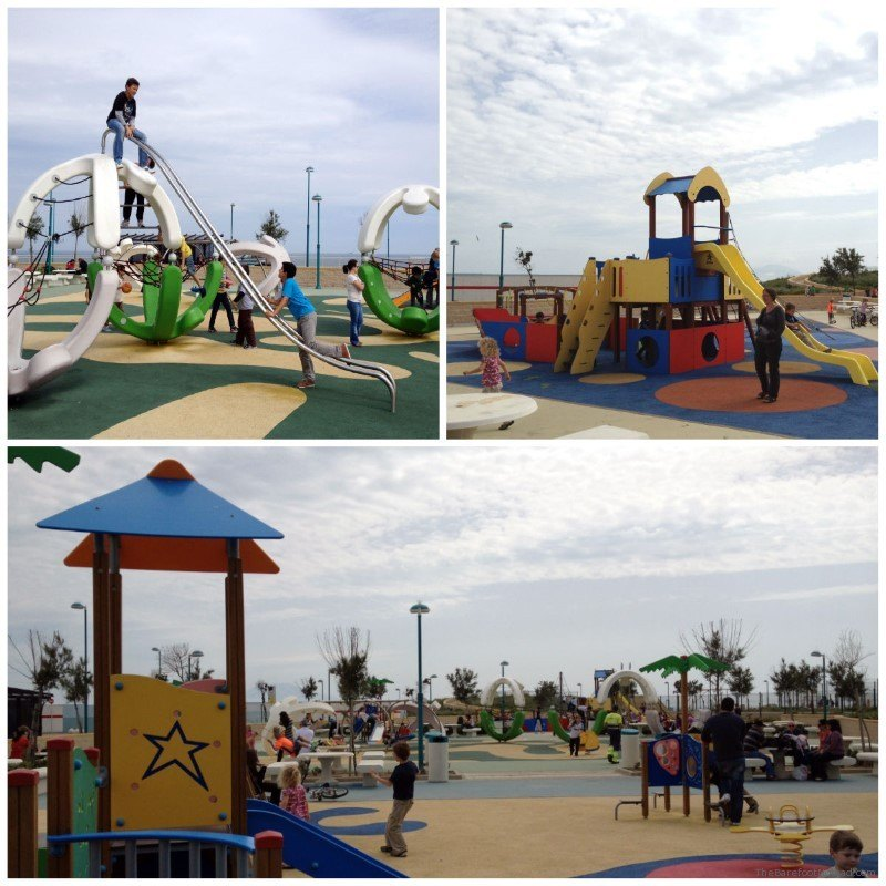 Playground in Gibraltar