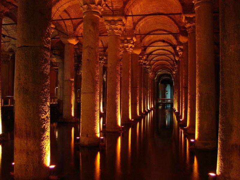 Basilica Cistern by Allie Caulfield