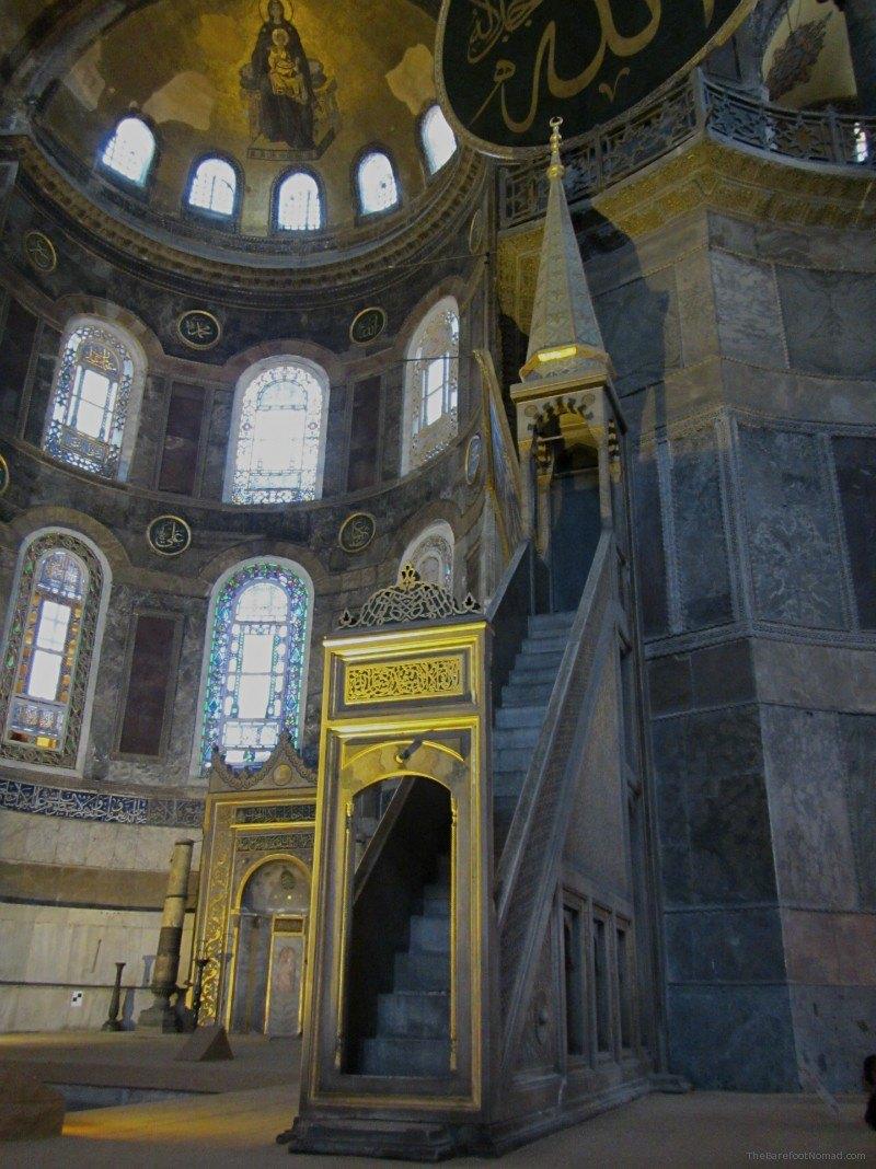 Hagia Sophia minbar pulpit