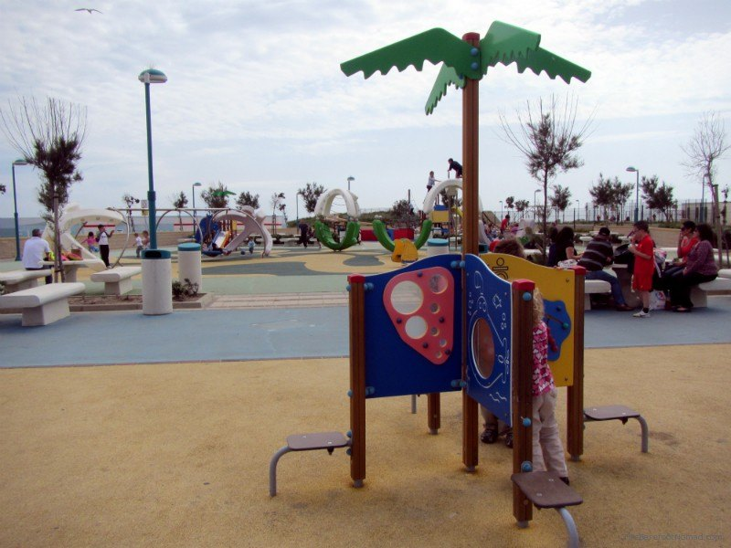 Playground on Gibraltar
