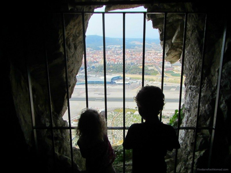 View from the Great Siege Tunnels