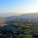 100s of Balloons over Goreme Turkey Cappadocia