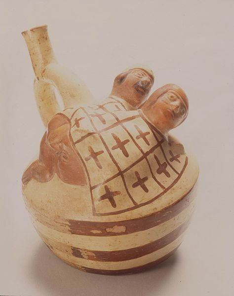 Moche Pottery. Photo by Lyndsayruell