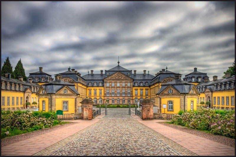 Bad Arolsen Germany by Bert Kaufmann