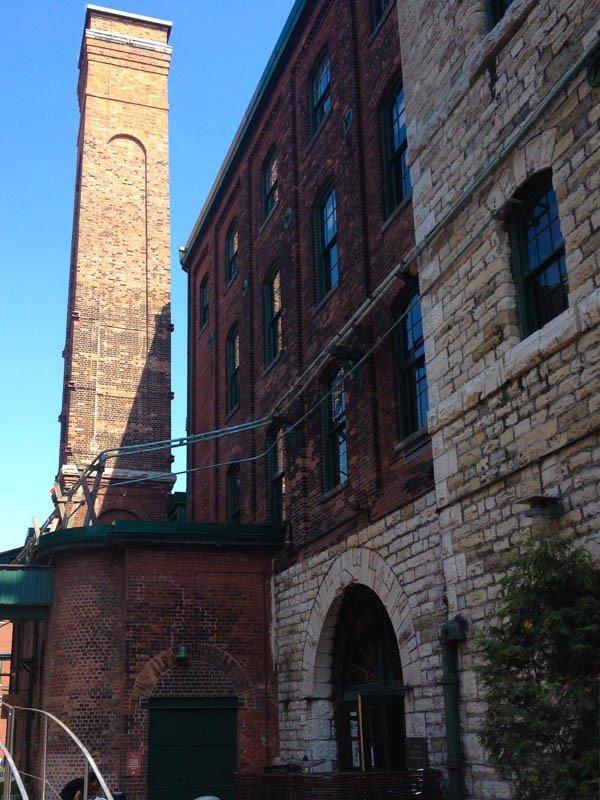 Distillery District Architecture