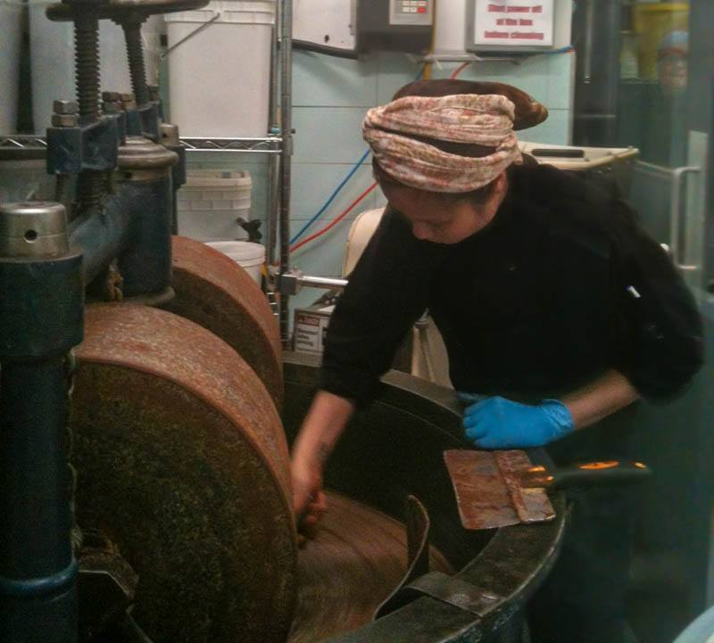 Making chocolate at Soma