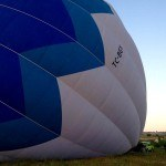 Hot air balloon dwarfs kids and truck Butterfly Balloons Goreme