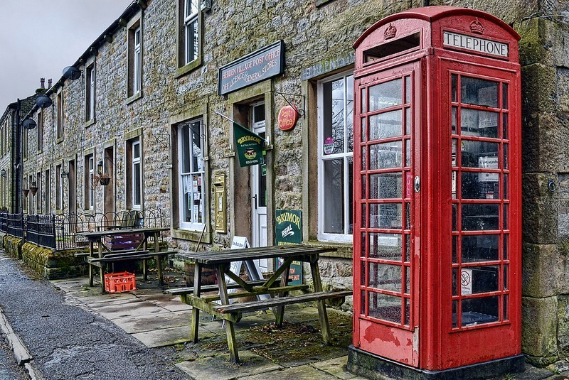 Hebden Post Office by Alison Christine