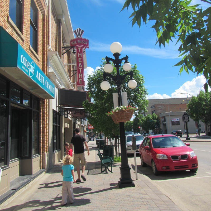 Downtown Moose Jaw