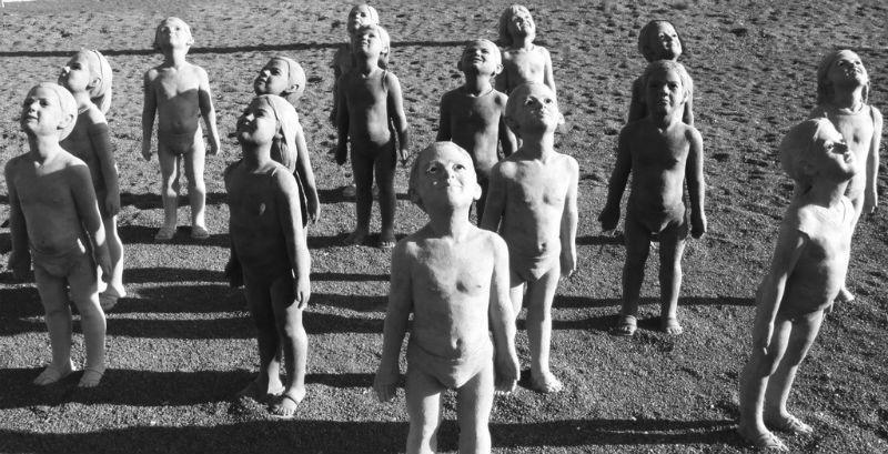 Statues in Jandia on Fuerteventura by Tony Hisgett