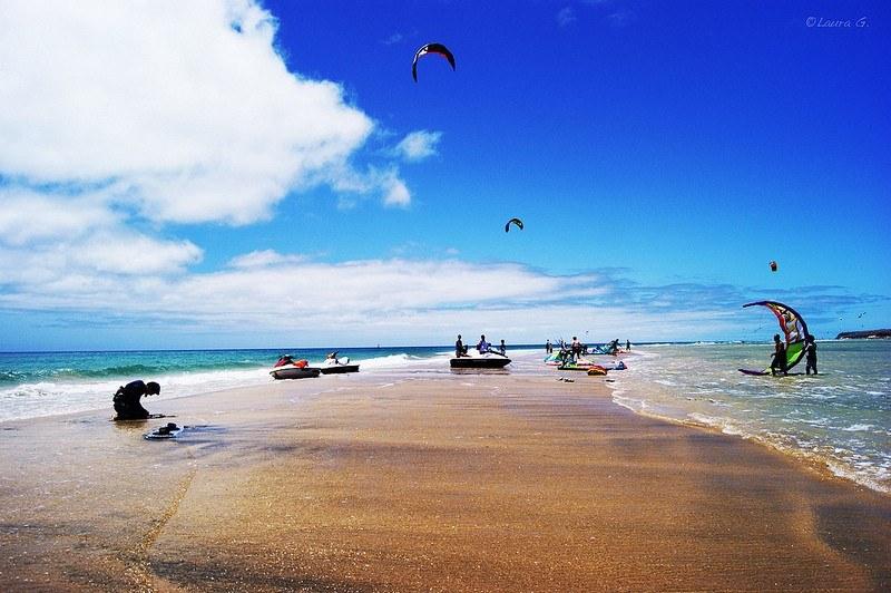 Windsurfing & Kiteboarding World Cup Fuerteventura 2013 by Laura Garcés