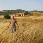 Charles at Hierapolis Turkey 800