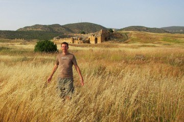 Charles at Hierapolis Turkey 800