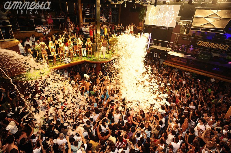 Foam Party by Amnesia - Ibiza