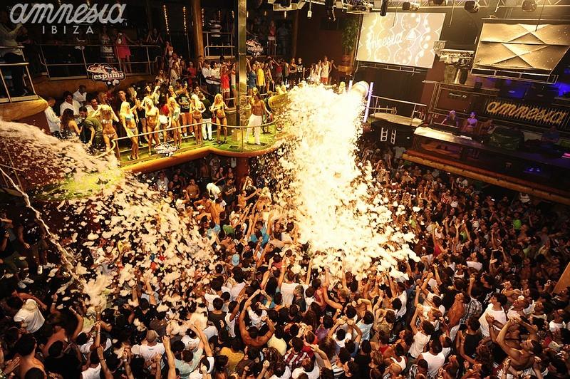 Foam Party by Amnesia - Ibiza