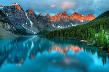 Moraine Lake by by James Wheeler on Flickr