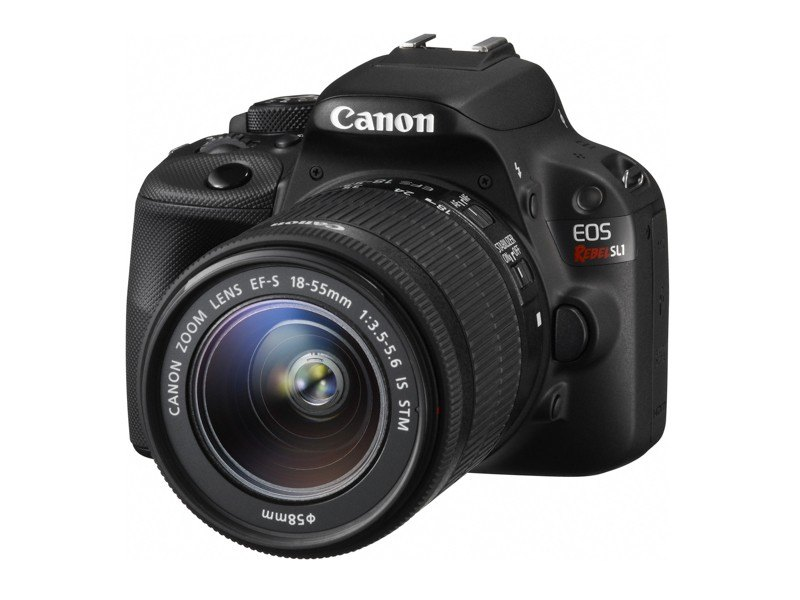 A Canon EOS Rebel SL1 w/ 18-55mm IS STM Lens (MSRP $779.99)