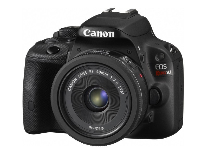 Canon EOS Rebel SL1 w/Canon EF 40mm f2.8 STM Lens