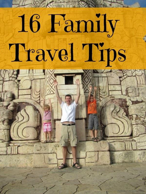 16 Family Travel Tips