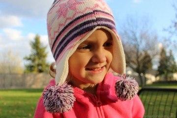 Little girl portrait with Canon EOS Rebel SL1