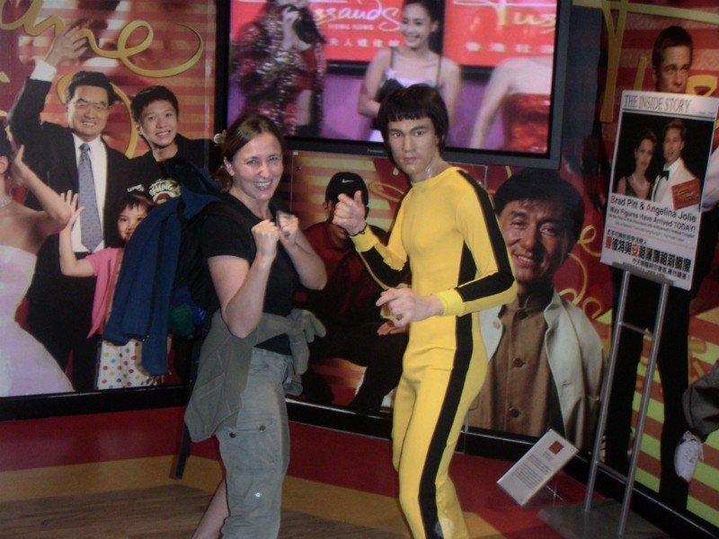 Micki and Bruce Lee